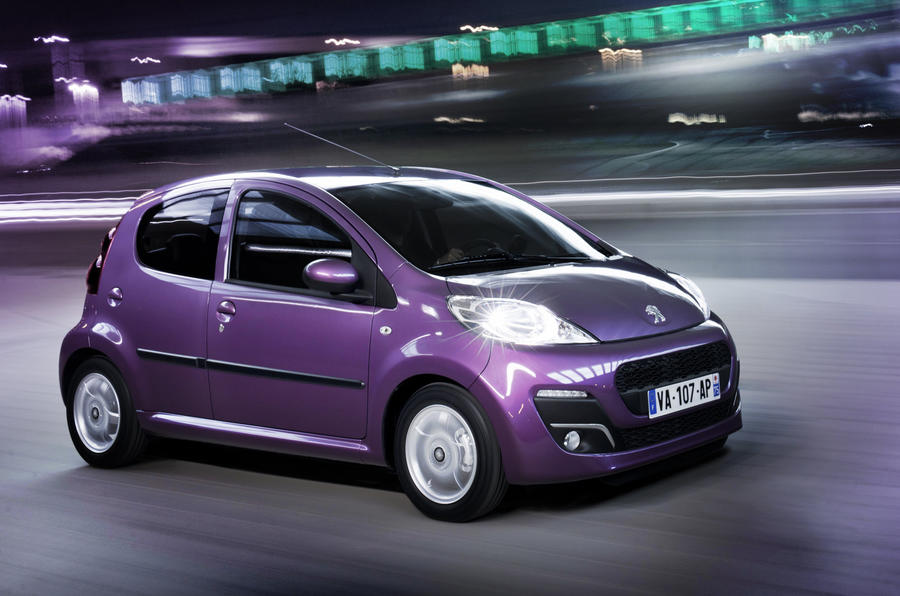 Revised Peugeot 107 Uncovered Autocar