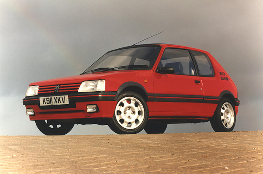 Peugeot reinvents the 205 GTI