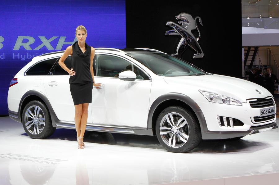 Frankfurt show - Peugeot 508 RXH