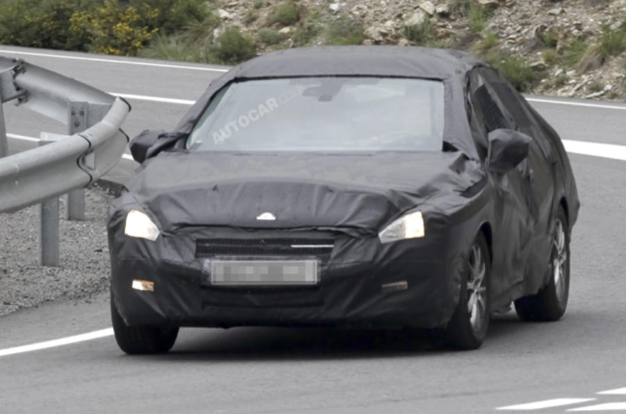 Peugeot 508 tests continue