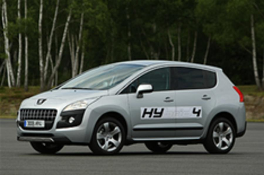Peugeot's diesel hybrid first