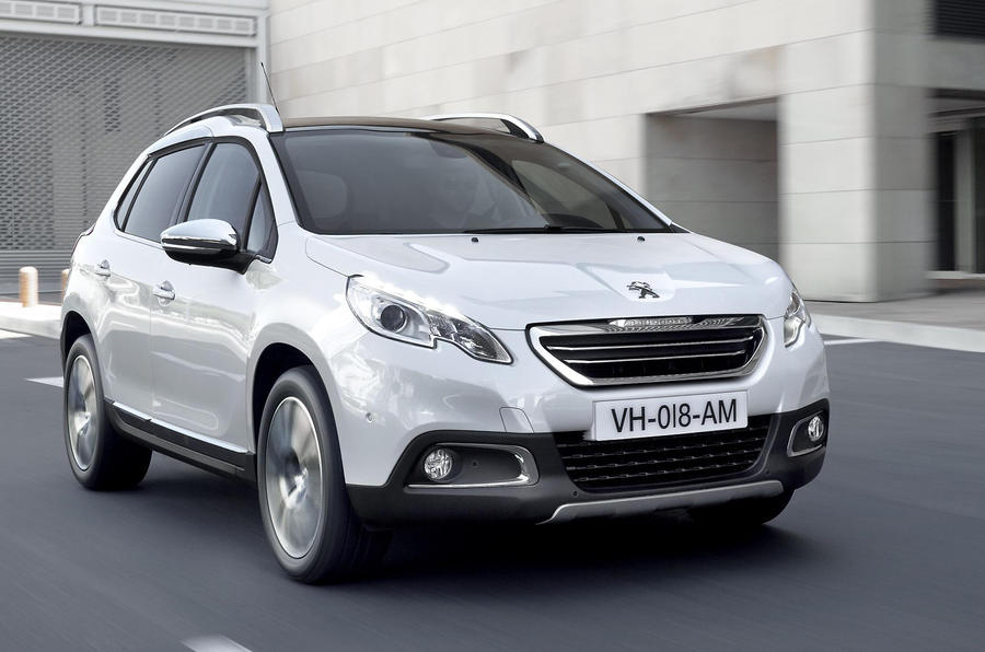Peugeot 2008 Allure 1.6 e-HDI 115 first drive review