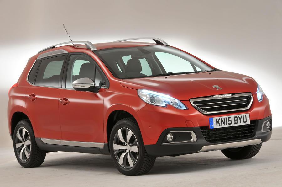 3.5 star Peugeot 2008