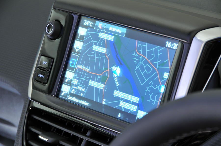 Peugeot 2008 infotainment system