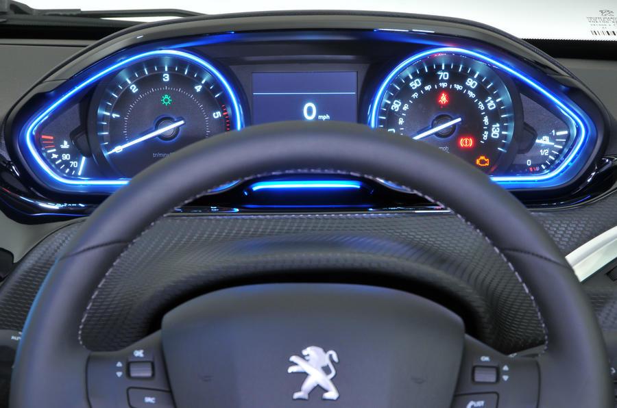 Peugeot 2008 instrument cluster