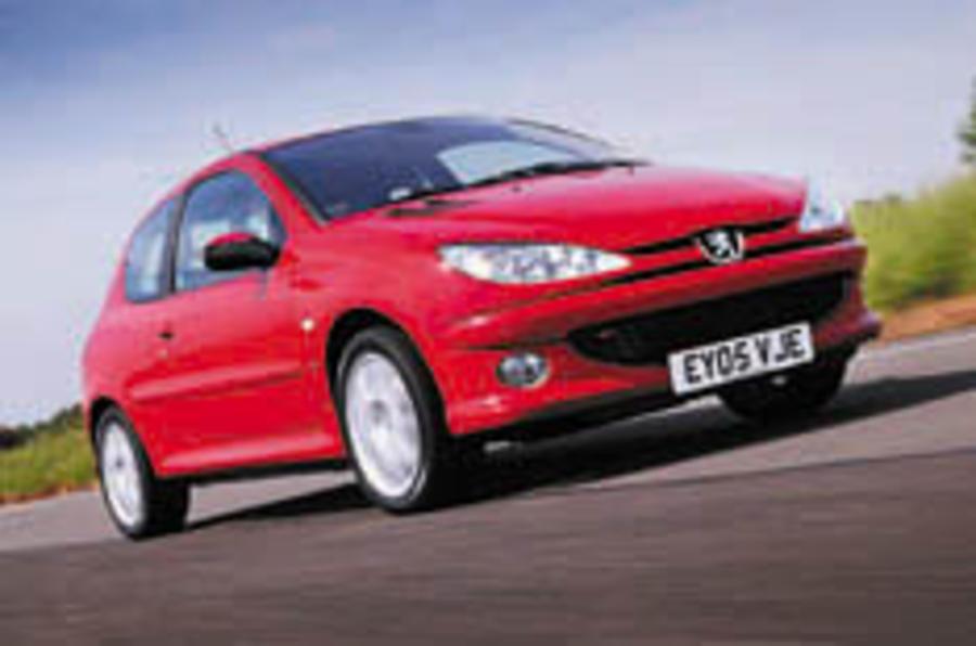 Peugeot livens up 206