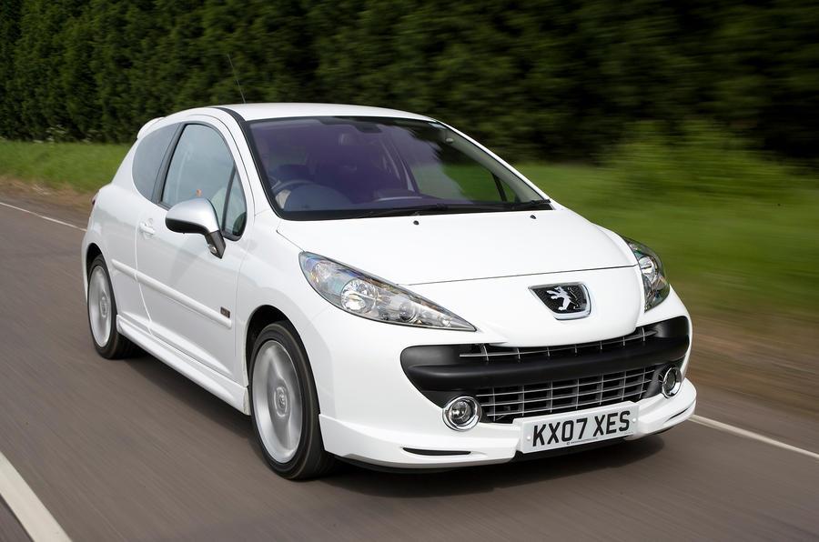 Peugeot 207 front quarter