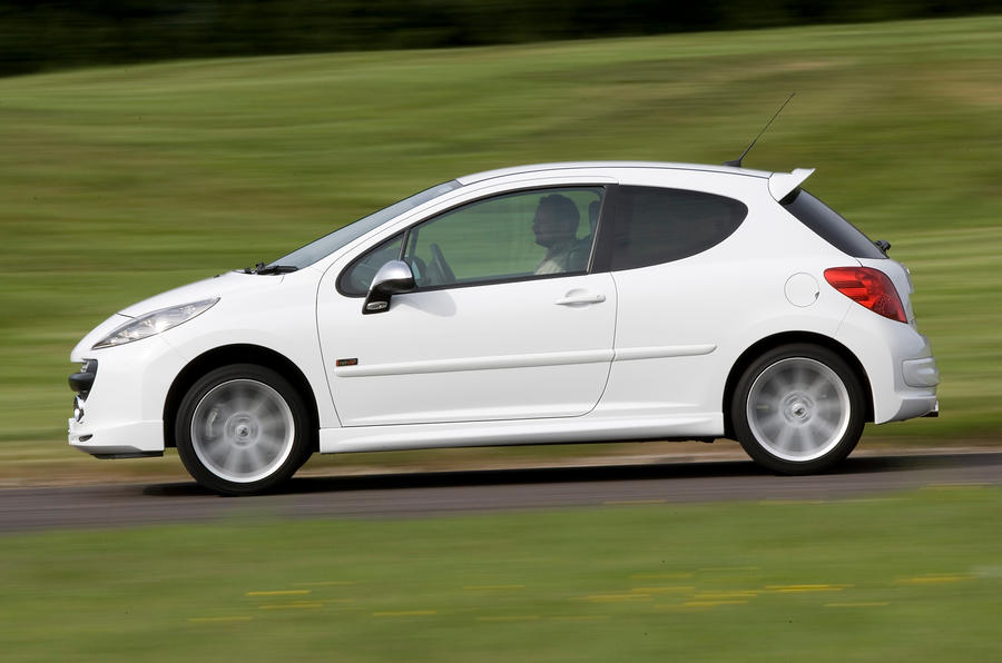 Peugeot 207 side profile