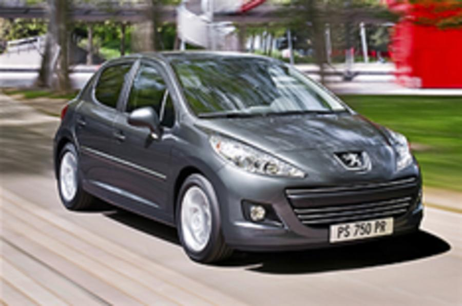 Peugeot 207 facelift unveiled