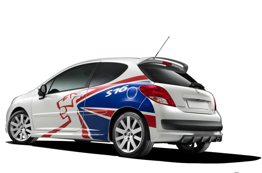 Peugeot's 207 S16 rally special