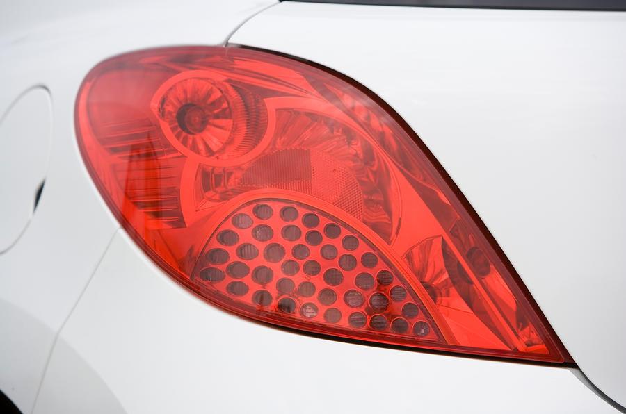 Peugeot 207 rear light