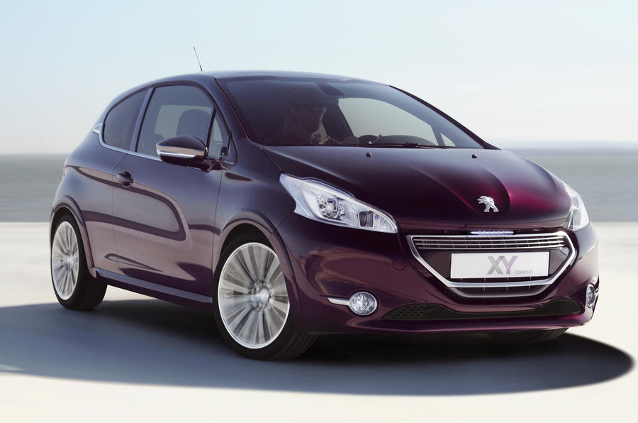 Geneva 2012: Luxury Peugeot 208