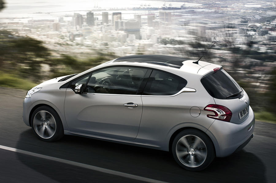 Peugeot 208 engine line-up confirmed