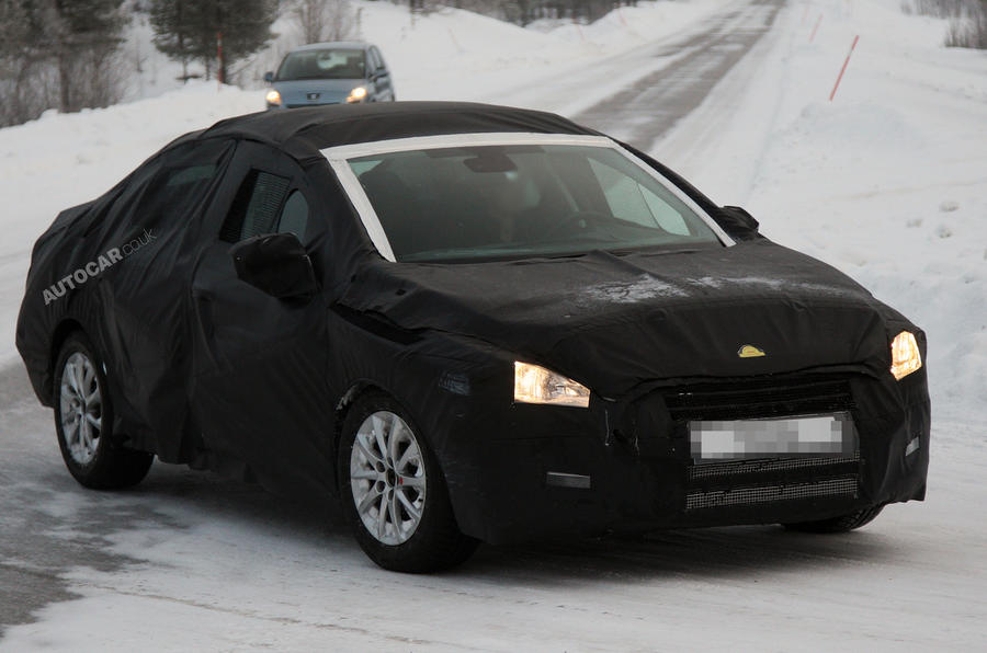 New Peugeot 508 caught testing