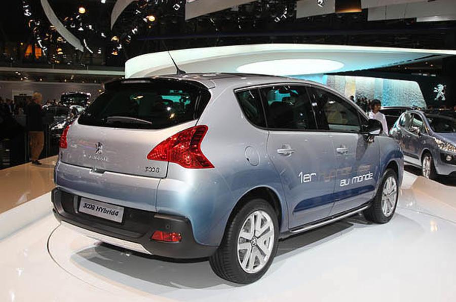 paris motor show 2010 peugeot 3008 diesel hybrid autocar. Black Bedroom Furniture Sets. Home Design Ideas
