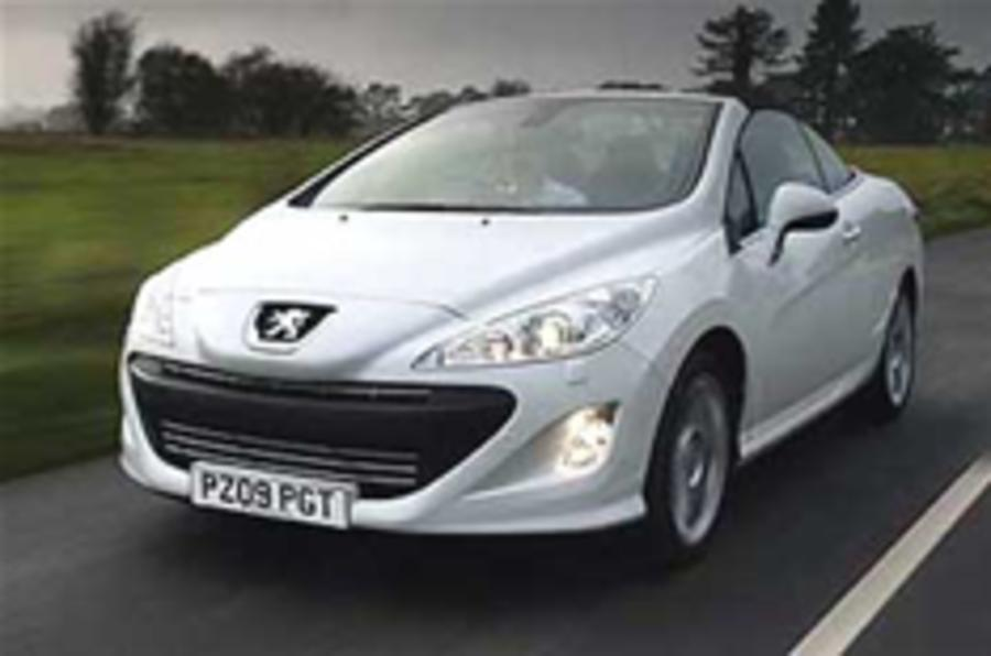 Peugeot 308 CC prices revealed