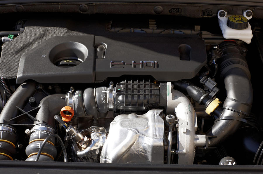 1.6-litre Peugeot 308 engine