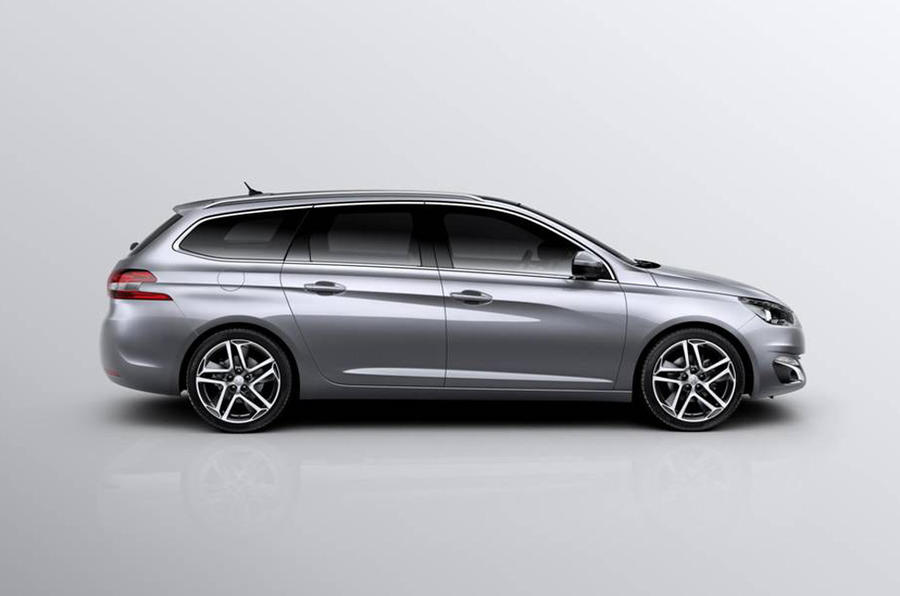 Peugeot 308 SW offers class-leading boot space