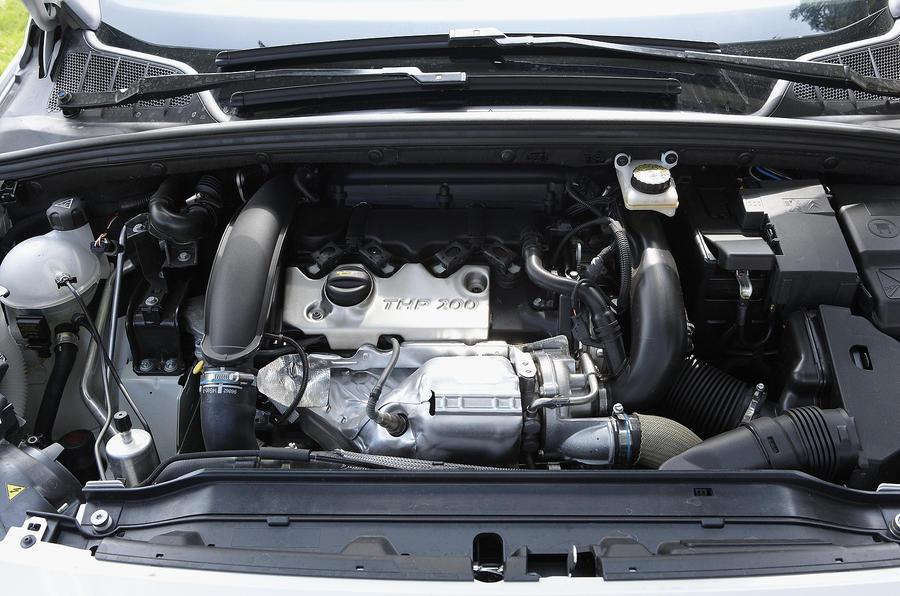 2.0-litre Peugeot 308 CC turbodiesel