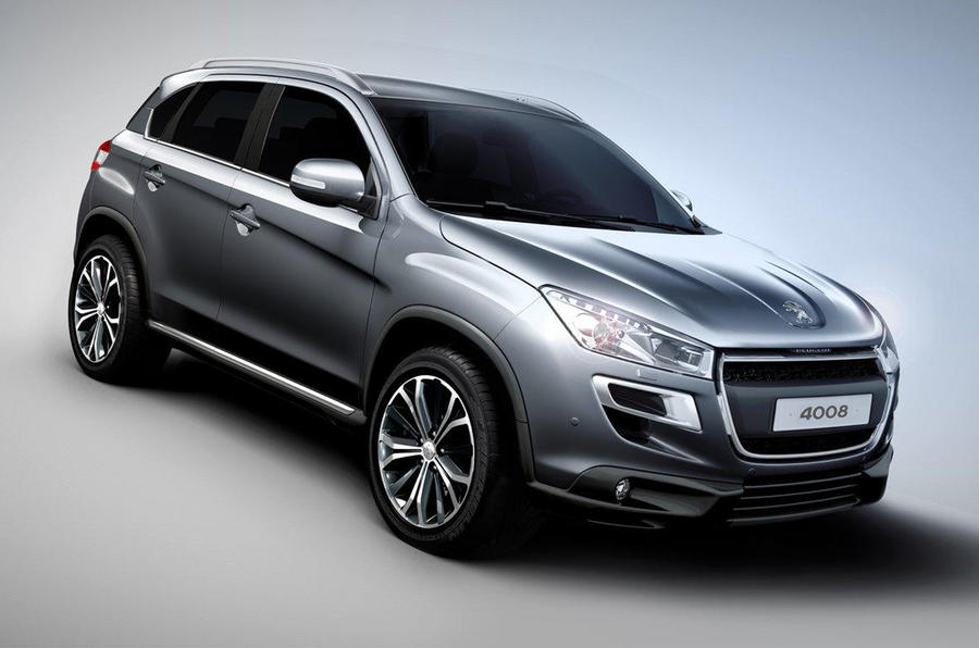 peugeot 4008 suv revealed autocar. Black Bedroom Furniture Sets. Home Design Ideas