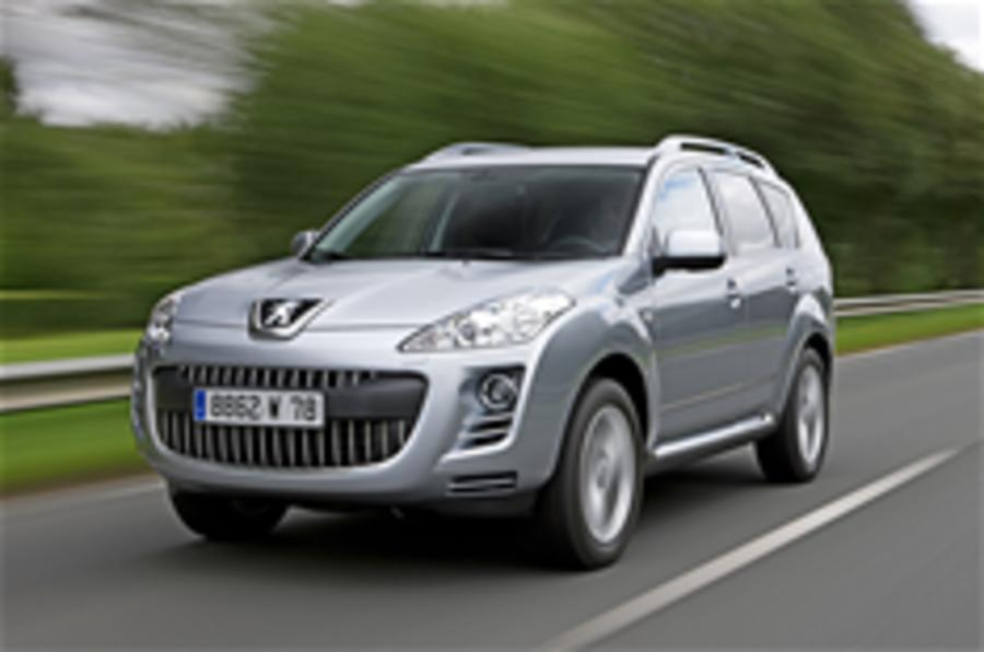 Peugeot 4007 gets dual-clutch 'box