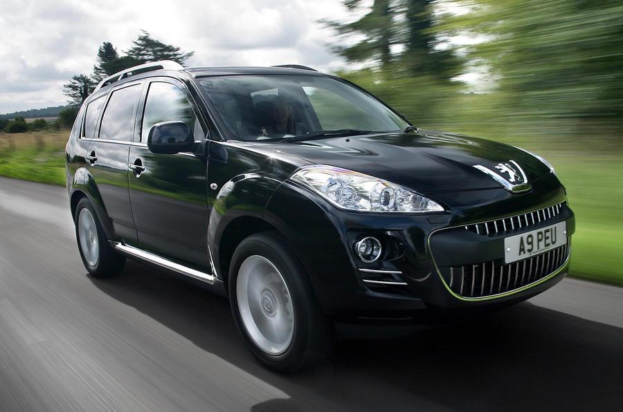 Peugeot 4007 2007-2012