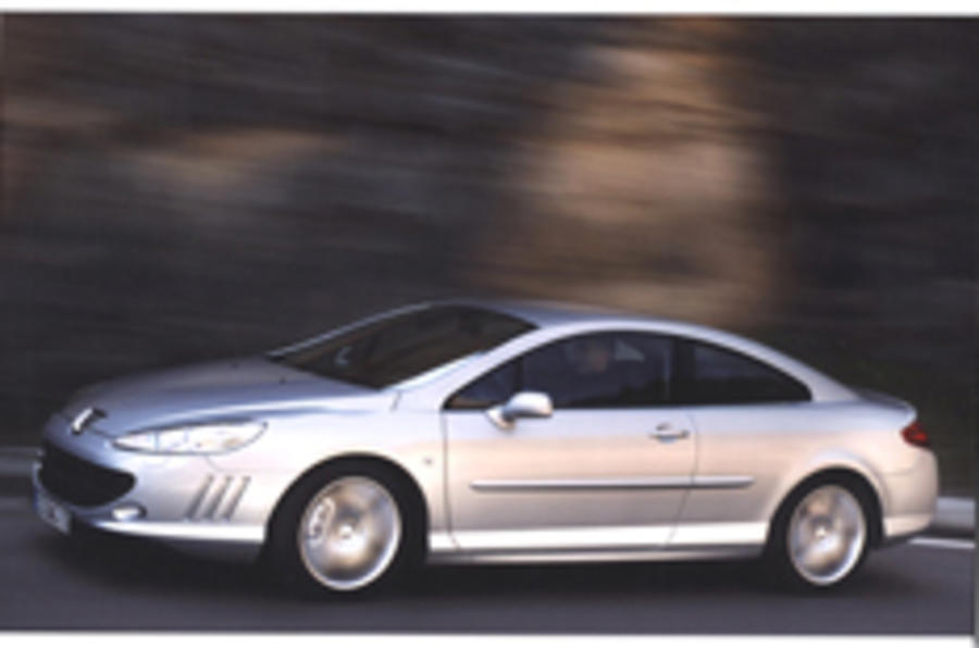 Peugeot 407 Coupé revealed