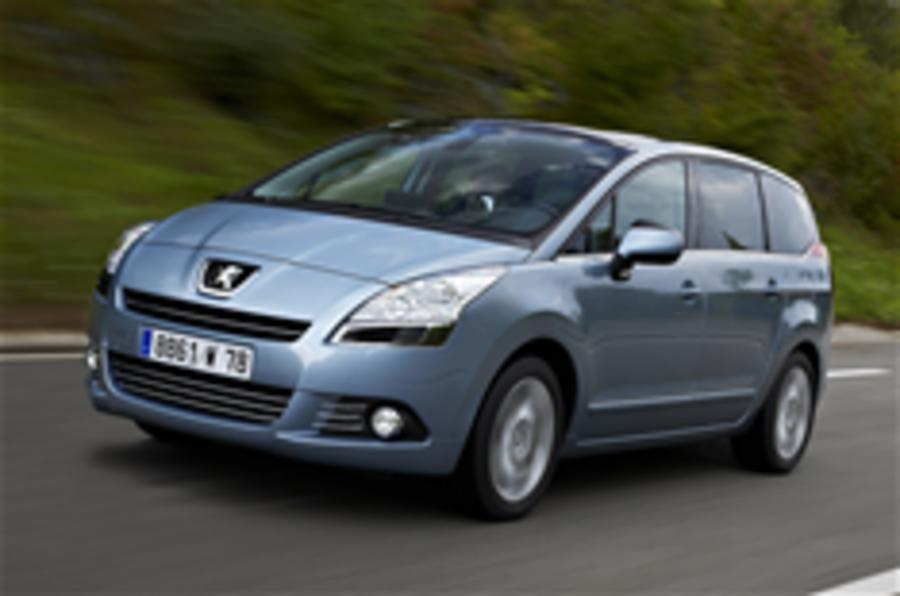 Peugeot 5008 prices announced