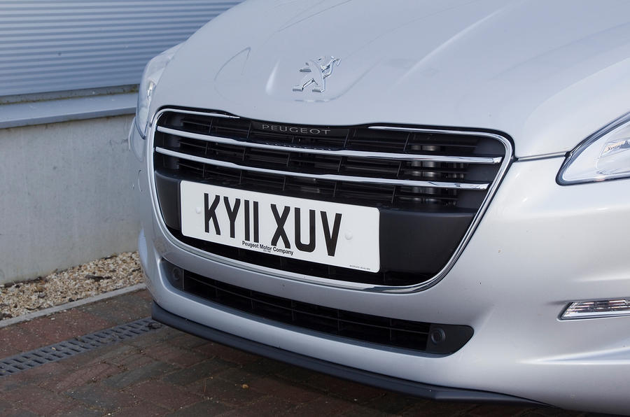 Peugeot 508 front grille