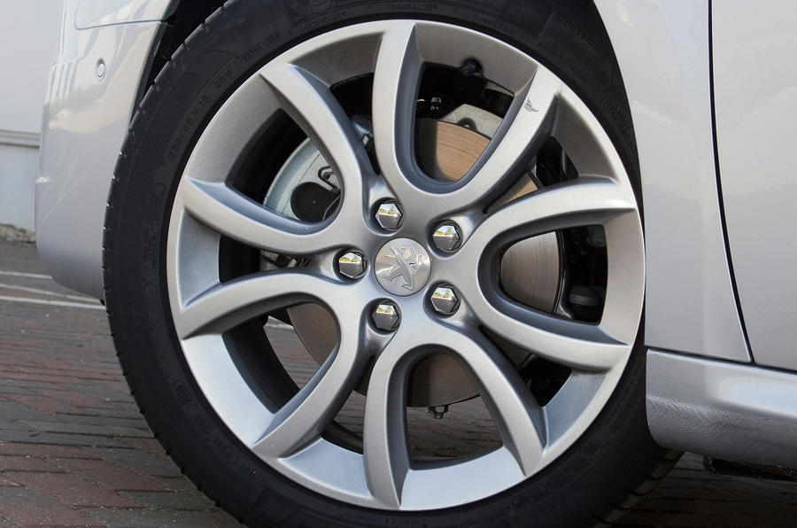 Peugeot 508 alloy wheels