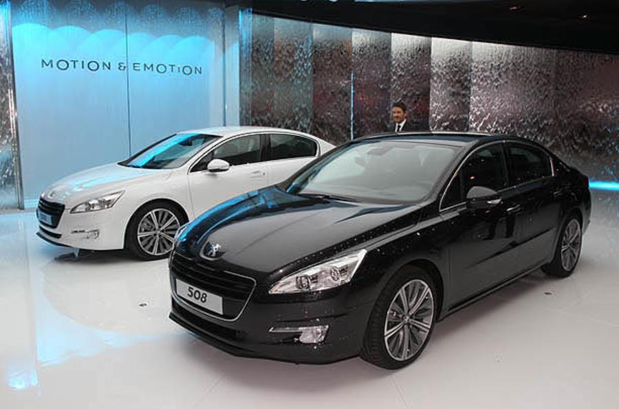Paris motor show: Peugeot 508