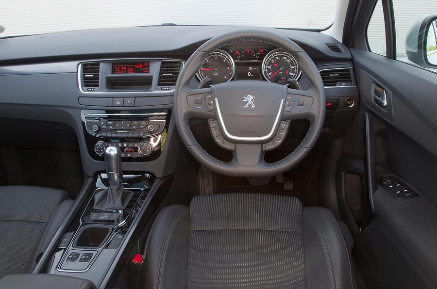 Peugeot 508 interior | Autocar