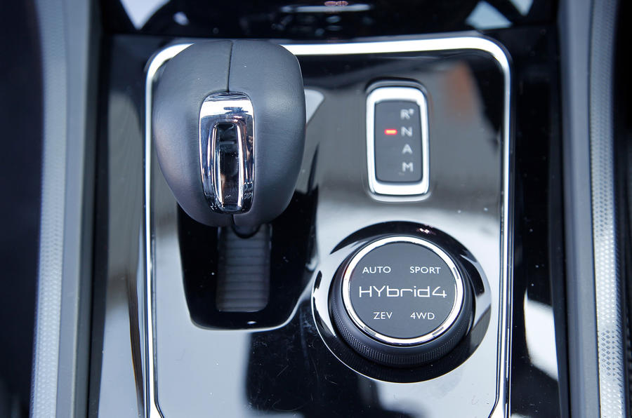 Peugeot 508 automatic gearbox