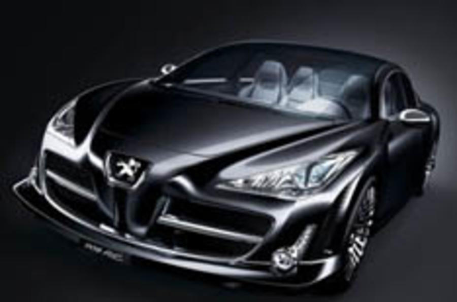 Peugeot's 700bhp diesel super-saloon