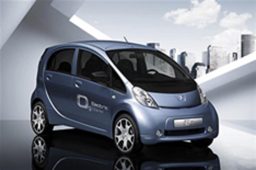 Frankfurt motor show: Peugeot iOn