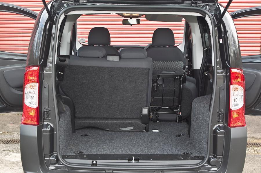 Peugeot Bipper Tepee seating flexibility