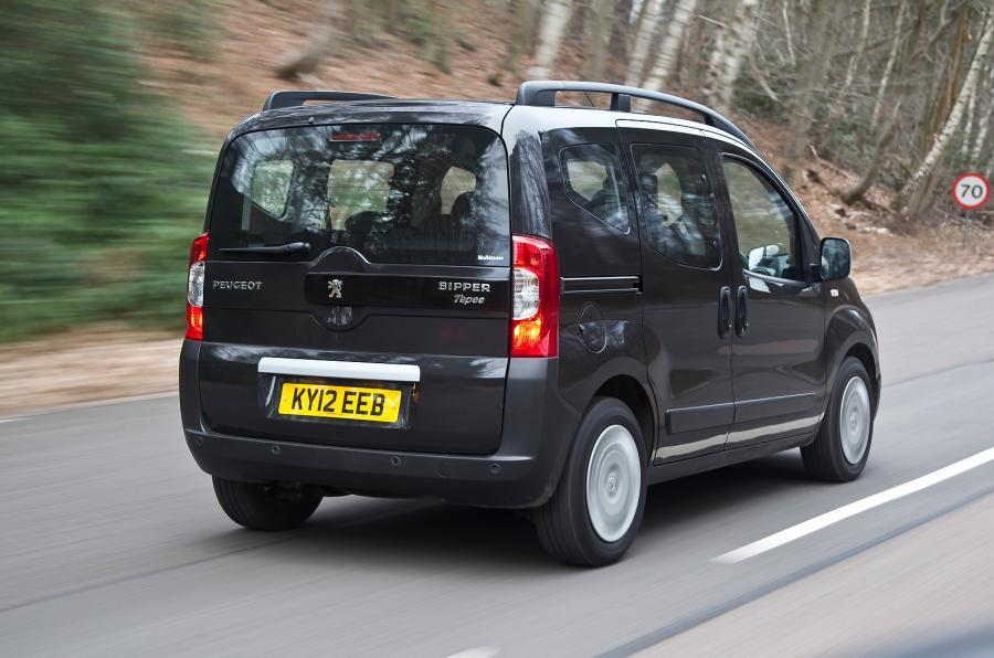 Peugeot Bipper Tepee rear