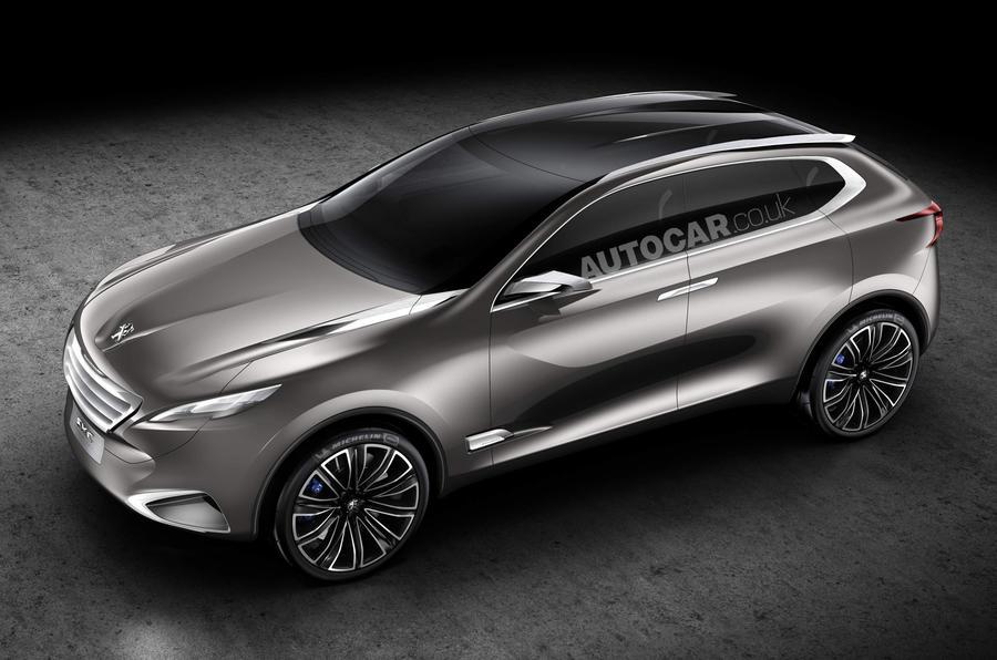 Shanghai motor show: Peugeot SxC