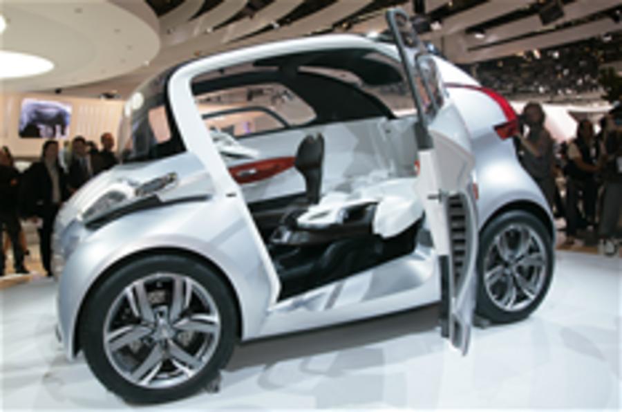 Frankfurt motor show: Peugeot BB1