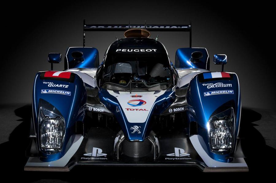 Peugeot's new Le Mans racer