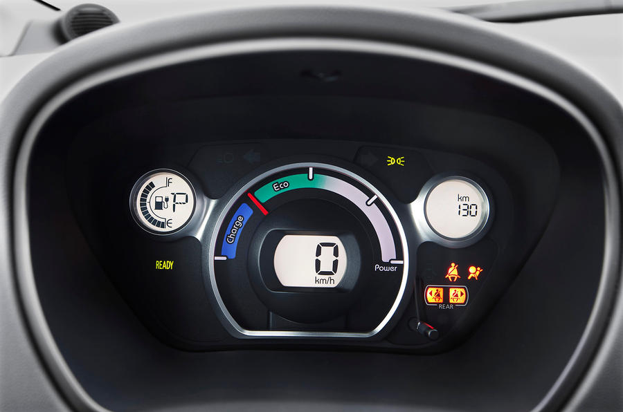 Peugeot iOn instrument cluster