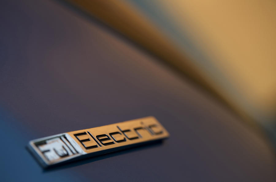 Peugeot iOn electric badging