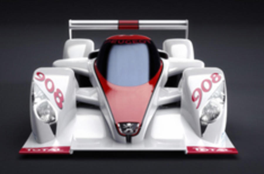 Paris show: Peugeot diesel for Le Mans