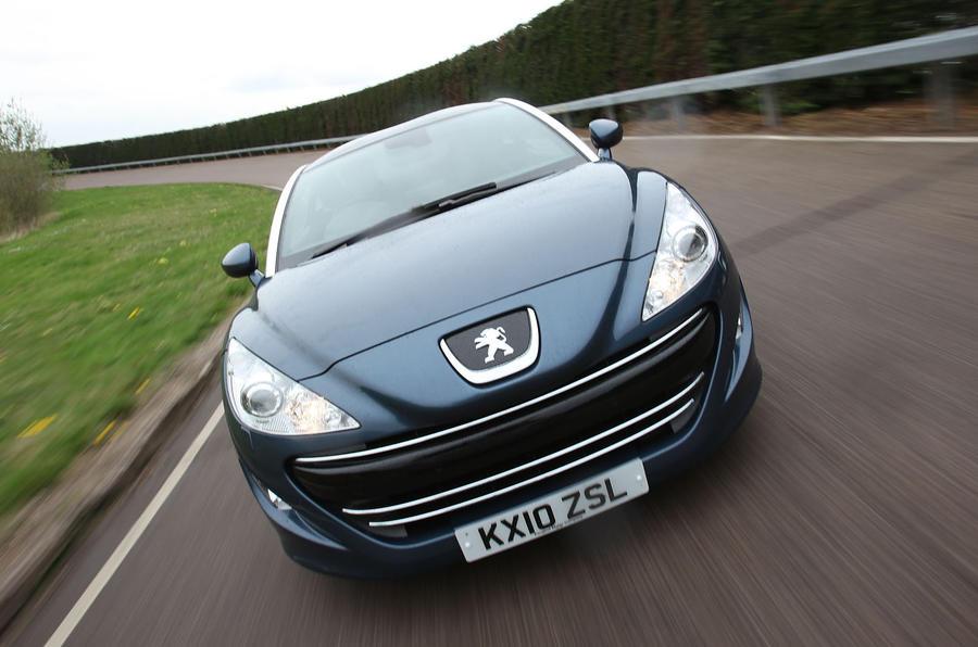 Peugeot RCZ front grille