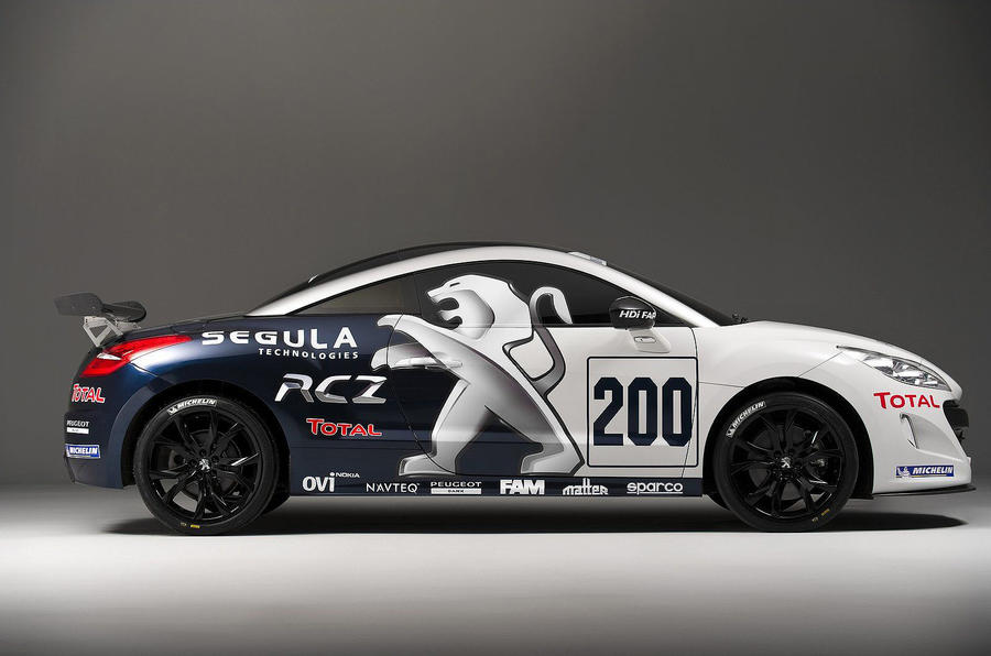 Peugeot launches RCZ racer