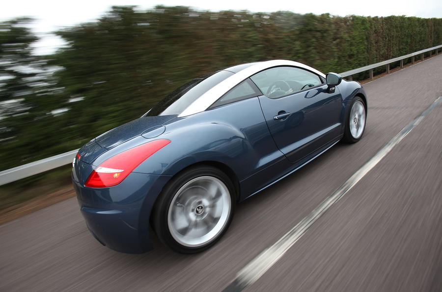 Peugeot RCZ rear quarter