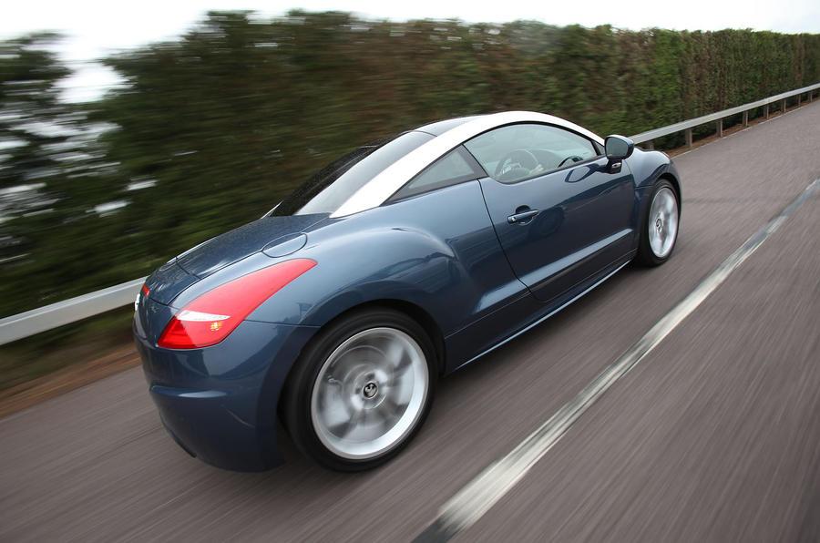 Peugeot RCZ rear quarter