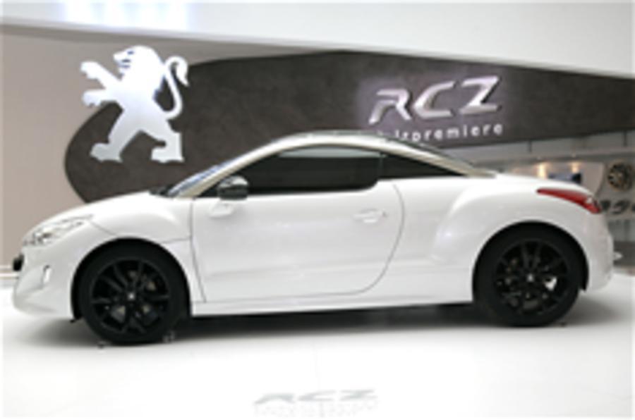 Frankfurt motor show: Peugeot RCZ