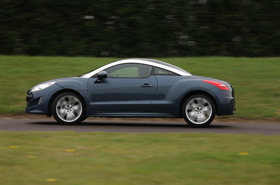Peugeot RCZ side profile