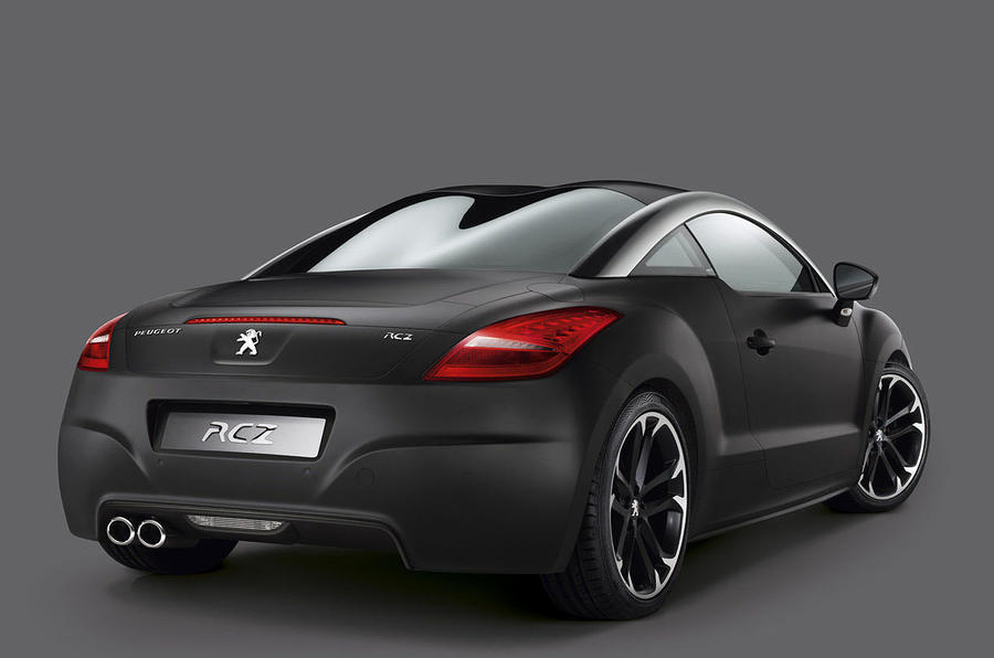 Peugeot's new RCZ special